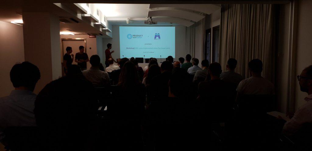 Workshop su OKR a Milano