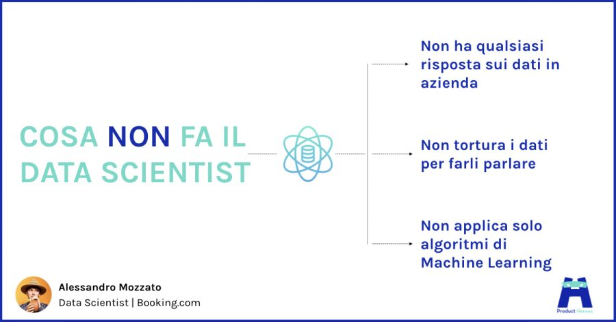 cosa non fa data scientist