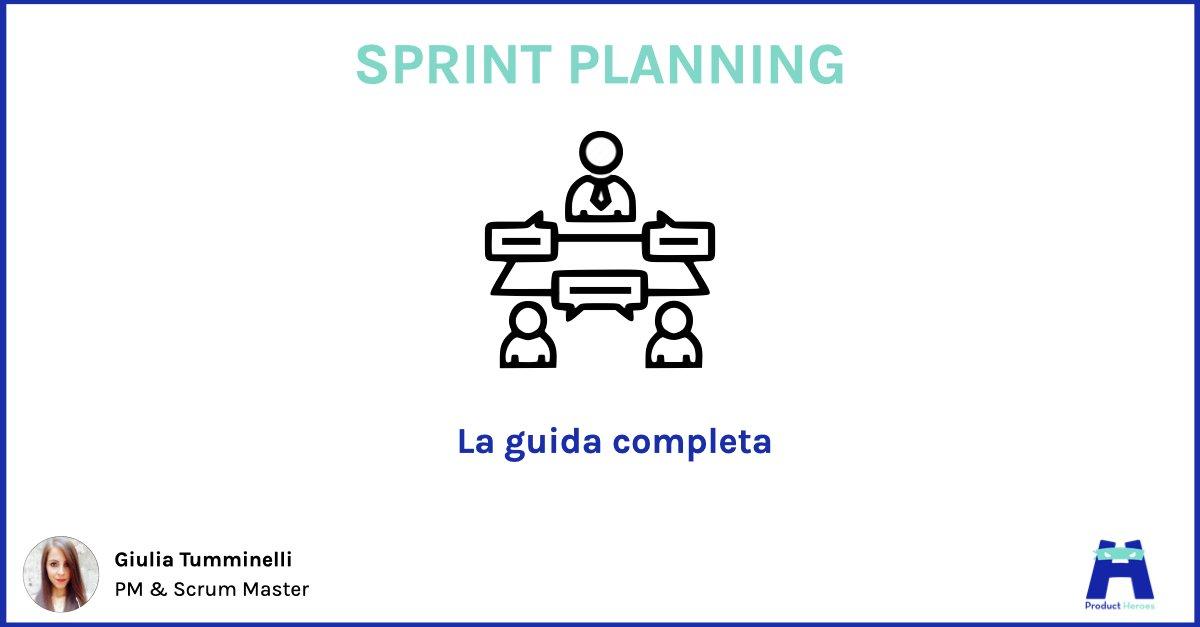 sprint planning, guida completa