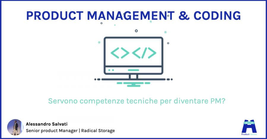 Product management e coding